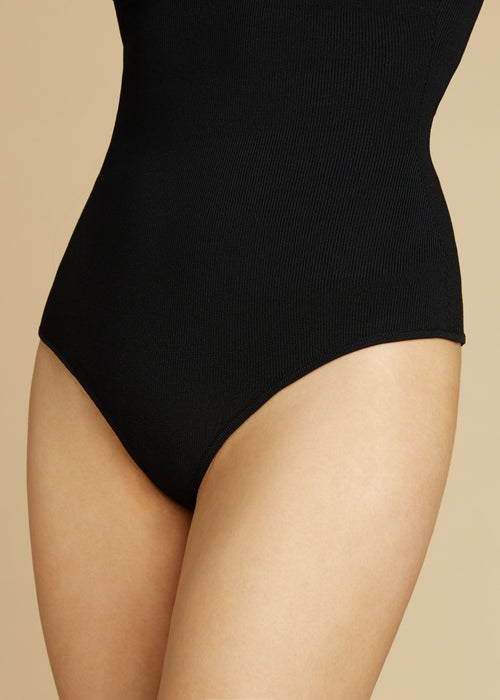 The Lory Bodysuit in Black