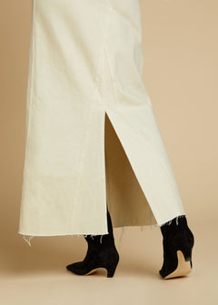 The Magdalena Skirt in Ivory