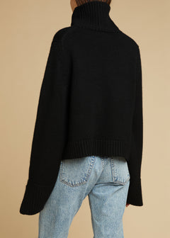 The Marion Sweater in Black