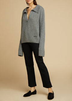 The Marisa Sweater in Smoke