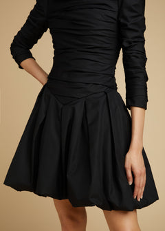 The Minnie Dress in Black