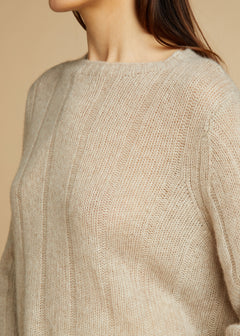 The Nelley Sweater in Powder