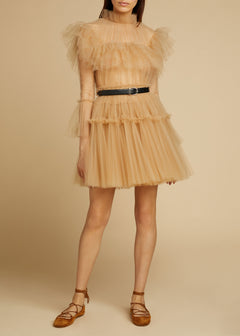 The Paula Dress in Nude