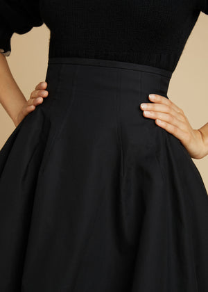 The Tanya Skirt in Black