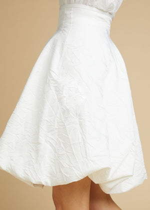 The Tanya Skirt in White