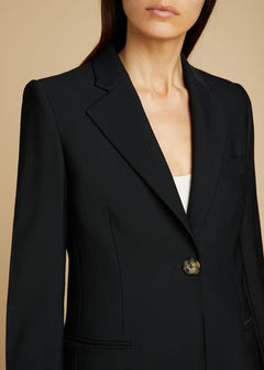 The Vera Blazer in Black