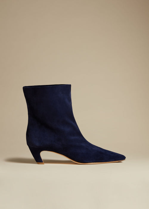 The Arizona Boot in Midnight Suede