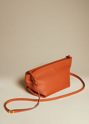 The Adeline Crossbody Bag in Sienna Leather