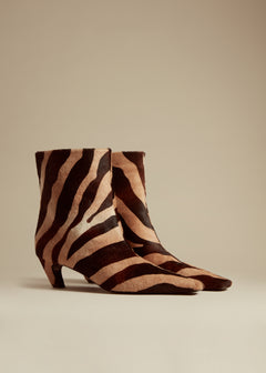 The Arizona Boot in Zebra Haircalf