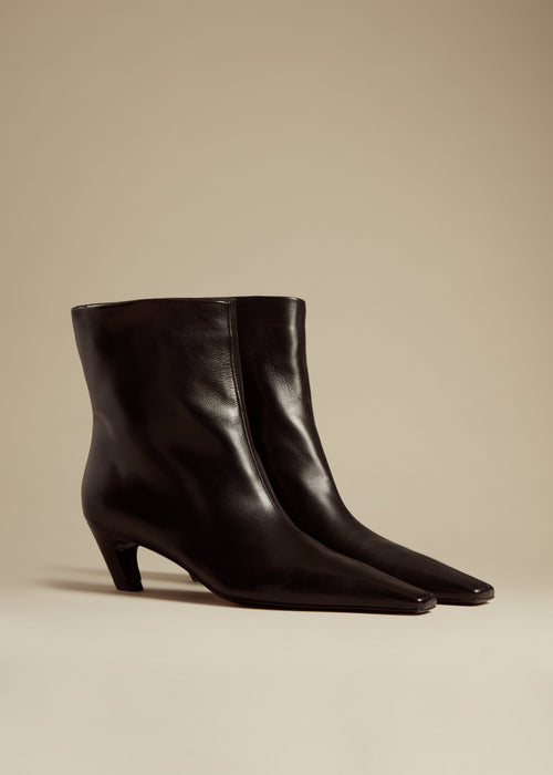The Arizona Boot in Black Leather
