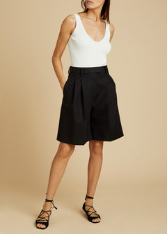 The Bailey Short in Black