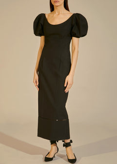 The Allison Dress in Black