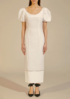 The Allison Dress in White