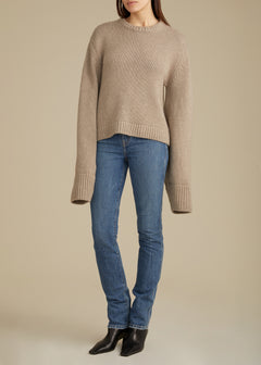 The Annalise Sweater in Husk