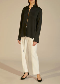 The Catherine Pant in Ivory