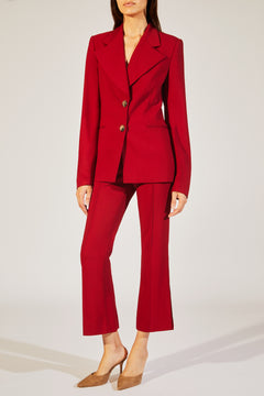 The Alexis Blazer in Currant