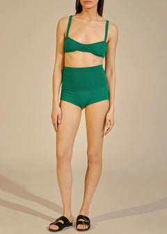 The Belinda Short in Kelly Green