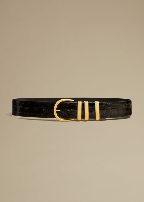 The Bella Belt in Nero