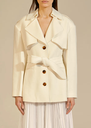 The Billy Trench in Ivory
