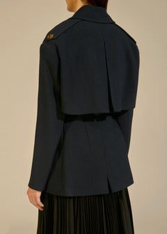 The Billy Trench in Navy