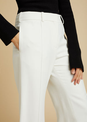 The Bruce Pant in Ivory