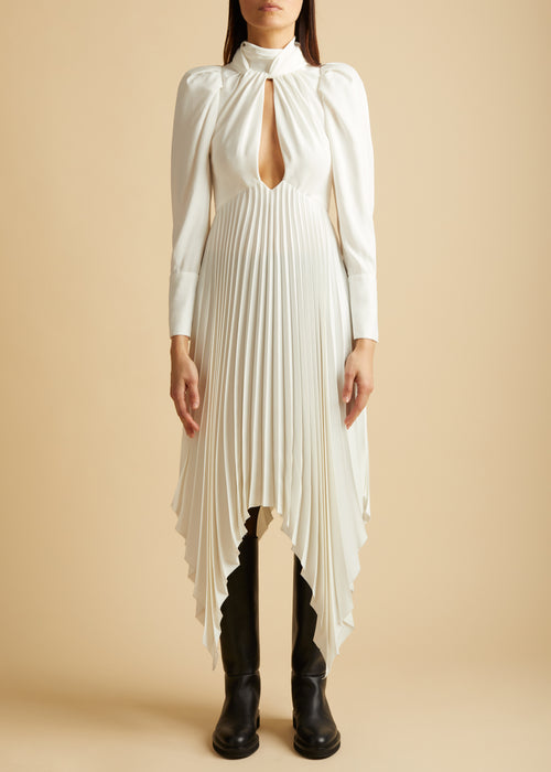 The Bryn Dress in Ivory