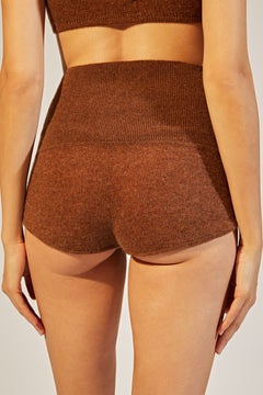 The Belinda Short in Tobacco