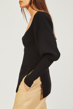 The Natasha Sweater in Black