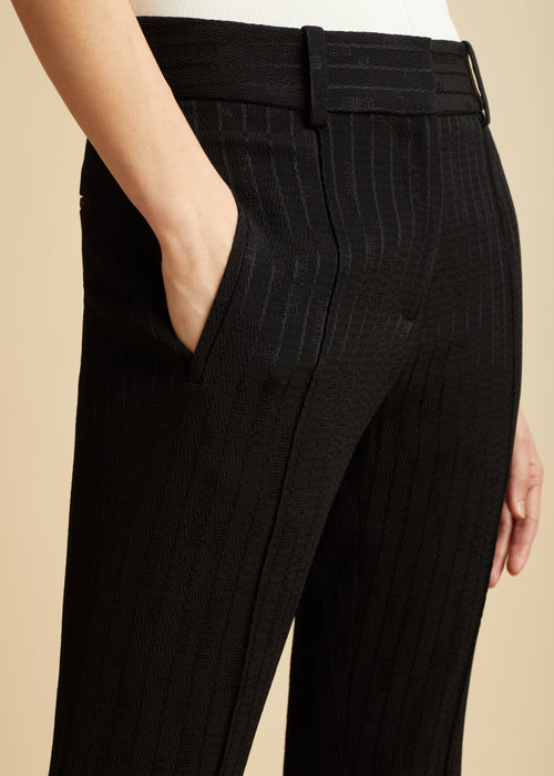 The Charles Pant in Black
