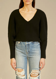 The Charlette Sweater in Black