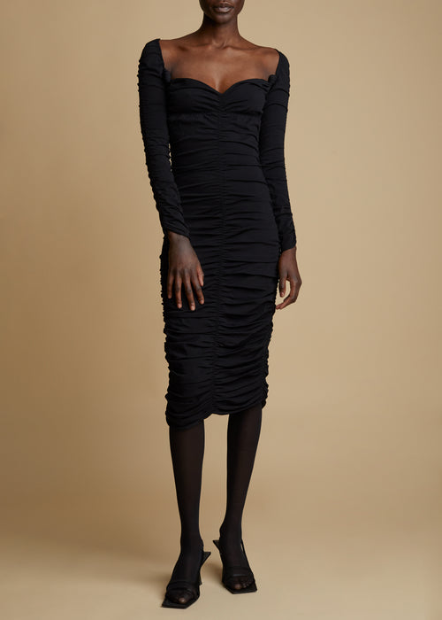 The Charmaine Dress in Black