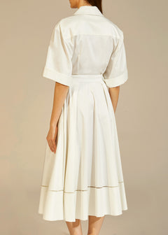 The Chloe Dress in White