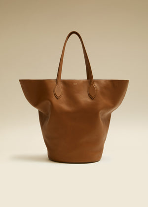 The Medium Osa Tote in Caramel Leather