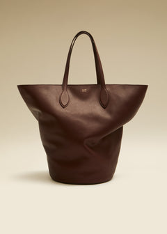 The Medium Osa Tote in Deep Red Leather