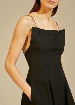 The Claudia Dress in Black
