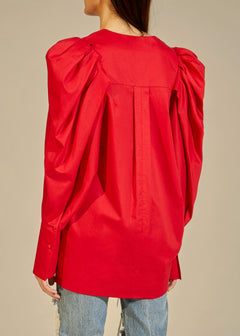The Conie Top in Red