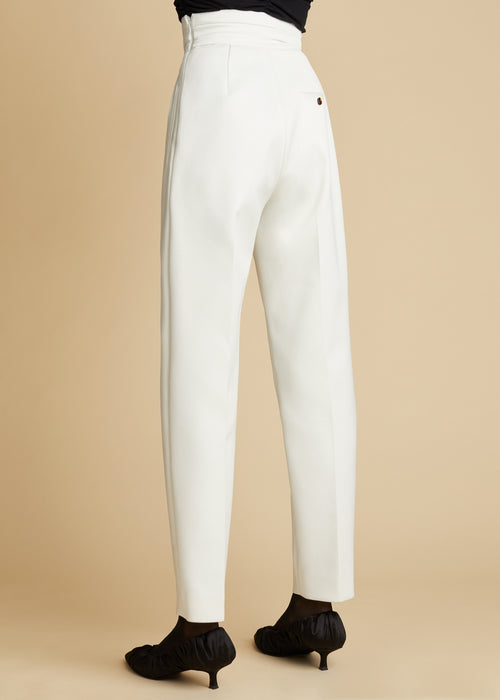 The Connelly Pant in Ivory