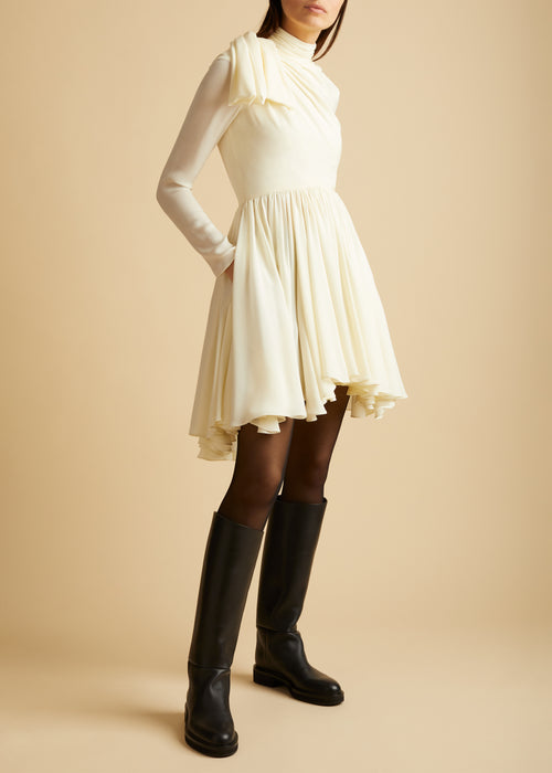 The Constance Dress in Ivory