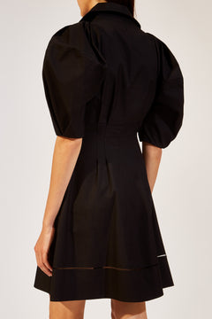 The Carlina Dress in Black