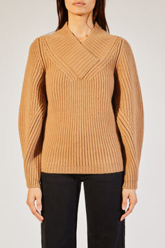 The Carlito Sweater in Camel