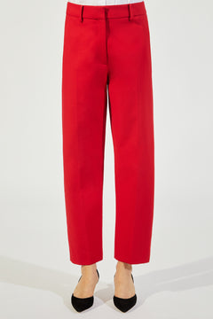 The Catherine Pant in Crimson