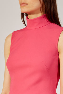 The Coleen Dress in Bright Pink