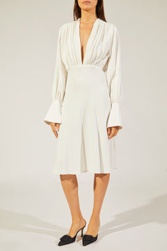 The Connie Dress in Ivory