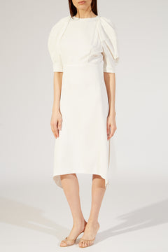 The Cynthia Dress in Ivory
