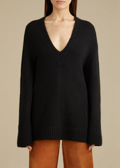 The Dana Sweater in Black