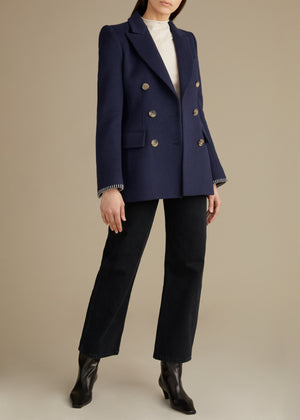 The Darla Blazer in Midnight