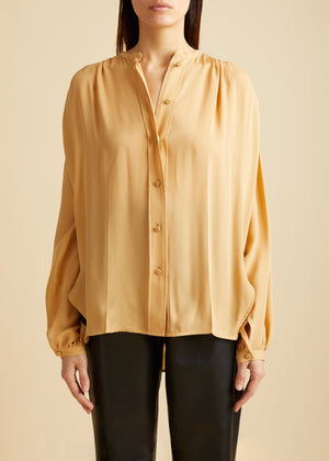 The Denny Top in Nude