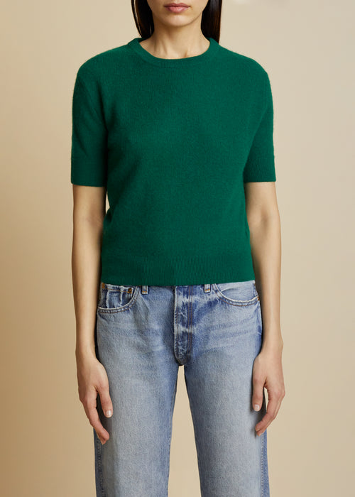 The Dianna Sweater in Vert