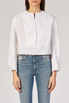The Dorothy Top in White