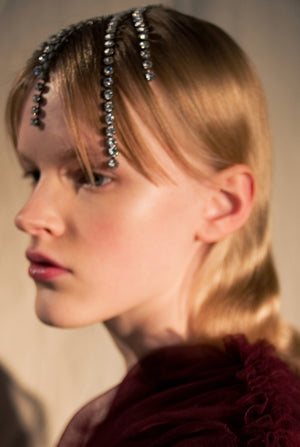 The KHAITE x Swarovski Headpiece in Silver